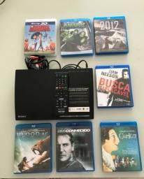 Blu-ray Sony + 7 filmes comprar usado  São Paulo