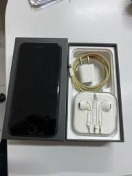 IPhone 7 256 GB preto JetBlack com nota