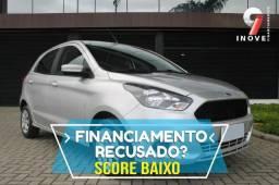 Ford Ka Score Baixo Pequena Entrada Oportunidade - 2015