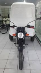 Honda Triciclo cargo baú CG 150cc, 2012 Flex, semi nova vdo/tco/ac. cartão - 2012