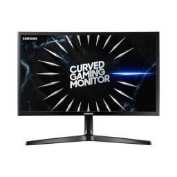Monitor Gamer Led 24 Samsung Curvo Lc24Rg50Fqlmzd, 4Ms, 144Hz, Widescreen, Hdmi, D-Port, P