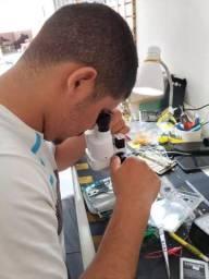 Microscópio até 20x binocular ideal para assistência