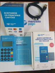 "Black Friday ""maquinas de cartão"" point mini Blue me30s"