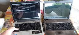 02 notebooks sem HD com 2gb memória cada acompanha 1 fonte nova s/uso so 200 so hj