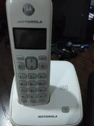 Telefone sem fio Motorola Dect 6.0