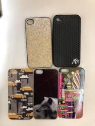 Capinhas para IPhone 4/4s e 5/5s