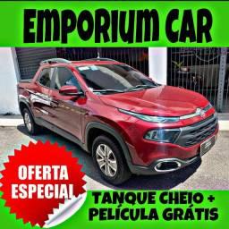 TANQUE CHEIO SO NA EMPORIUM CAR!!! FIAT TORO 1.8 AUTO ANO 2019 COM MIL DE ENTRADA