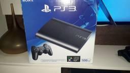Vendo PS3 500 GB impecável