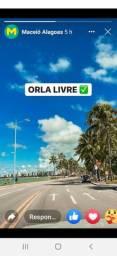 Apartamento Temporada com Vista para o mar Praia Ponta Verde