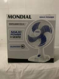Ventilador mondial Max power 40cm novo