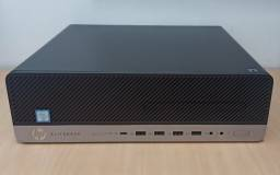 Mini Cpu Hp Elitedesk 800 G3 Corei5-6500 + Ssd 240gb + 8gb Ddr4