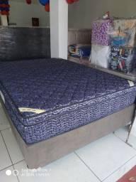 ;; Promoção Cama Box + Colchao OrtHotel Casal 138x188 Linha Hotelaria
