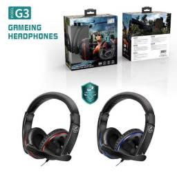Fone de ouvido game com microfone G3