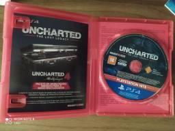 Jogo PS4 uncharted