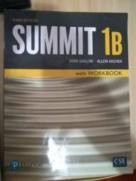Livro de inglês Summit 1B + workbook- Otimo estado