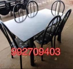 Mesa 6 cadeiras , Nova