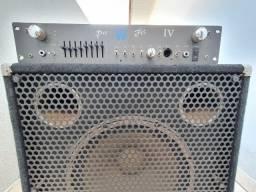 Kit Bass Warwick Pro Fet Iv - Com Caixa 15 - Original
