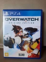 Overwatch Origins Edition, PS4, Mídia física
