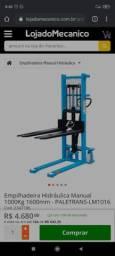 Empilhadeira hidráulica manual