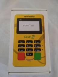 Máquinas leitores de cartão Minizinha chip2