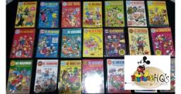 Coleção Disney Especial Completa 1ª Edição - 1 / 180 - 1972 / Excelente Estado