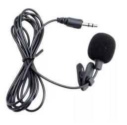 Microfone de Lapela para Computador - P2 3.5mm