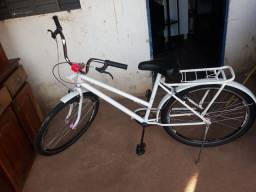 Bicicleta Genova Branca  Semi Nova