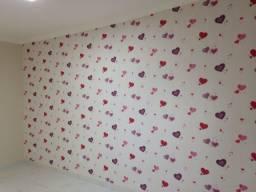 Aplicação de papel de parede!!