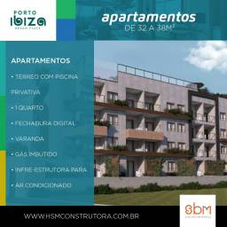 Porto Ibiza | 1 Quarto | Flats em Porto de Galinhas