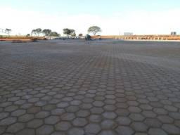 Execução de bloquete, blokret, sextavado, paver, pavimento rígido de concreto