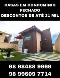 Casa em Condomínio Fechado na Planta! ITBI e Cartório Grátis