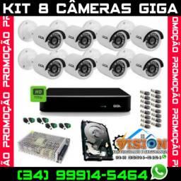 Câmeras de Segurança Kit GiGa *