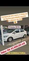 Prisma Financie ou Compre seu carro avista.