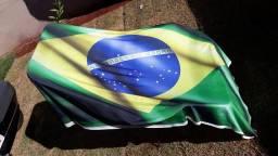 Bandeira do Brasil de malha de primeira Qualidade
