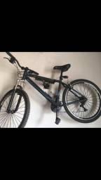 Bike Caloi peças shimano