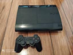 Playstation 3 250gb Desblo_queado com mais de 1000 jo_gos pra baixar.