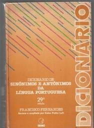 olx315a dicionário de sinônimos e antônimos da ling portuguesa ver fotos