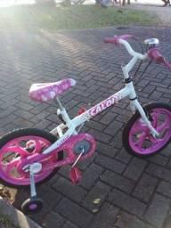 Bicicleta caloi infantil menina aro 16