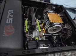 Pc Gamer/ Trabalho Xeon 2650v2+Rx560+32GB Ram