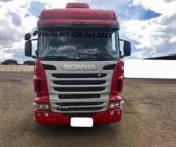 Título do anúncio: Scania G420 6X4 2012
