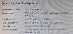 Kit amd athlon 5450 + placa mãe Asus AM1M-A + 4GB DDR3 1333 Markvision.