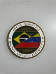 Moeda comemorativa da Missão Acolhida