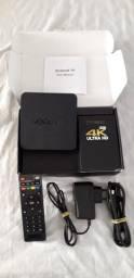 - Vendo Tv Box Mxq 4K Ultra Hd (Pouco usado).