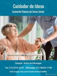 Cuidador de Idoso - Leonardo Ramos (Técnico em Enfermagem)