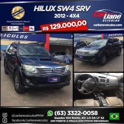 hilux sw4 2012/2012 4.0 srv 4x4 v6 24v gasolina 4p automático