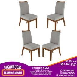 Título do anúncio: Cadeiras novas