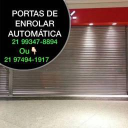 PORTAS DE ENROLAR DE AÇO