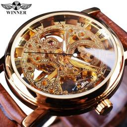 Título do anúncio: relógio de esqueleto mecânico