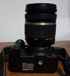 Câmera Nikon + Lente Tamron