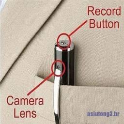 Mini Caneta Espia Bola Câmera Escondida Gravador Dvr Full Hd 1080p Vídeo Cam Voz